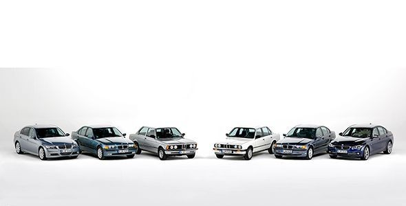 Historia de los 40 años del BMW Serie 3