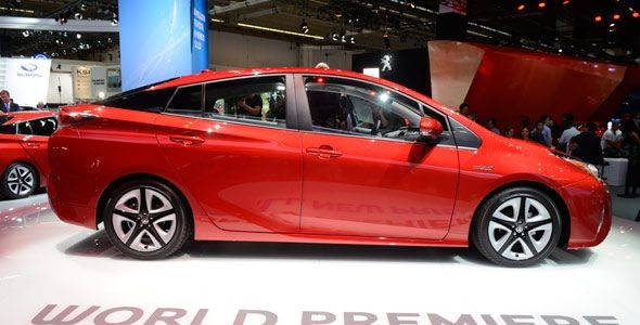 La nueva generación del Toyota Prius en el Salón de Frankfurt 2015