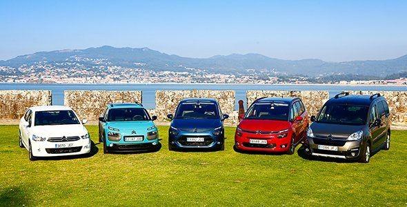 Los Citroën Made in Spain