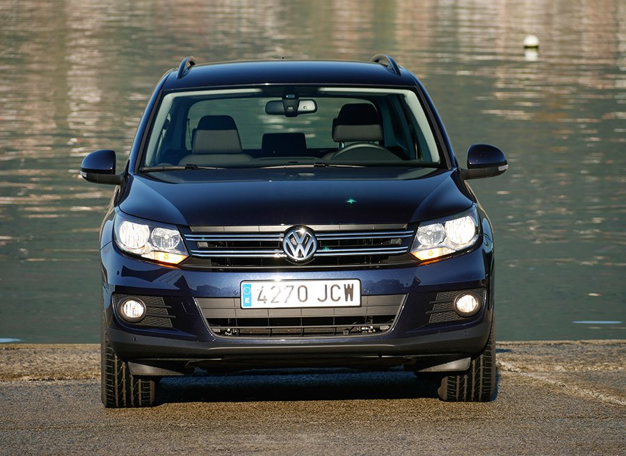 prueba volkswagen tiguan 2 0 tdi bluemotion 110 cv 4x2. Black Bedroom Furniture Sets. Home Design Ideas