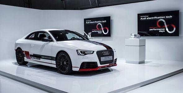 Audi avanza hacia la hibridación ligera de 48 voltios