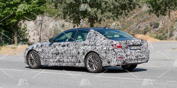 Nuevas fotos espía del nuevo BMW Serie 5 2017