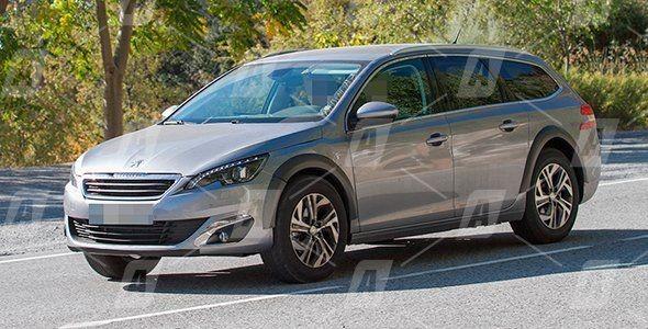 Fotos espía del nuevo Peugeot 6008