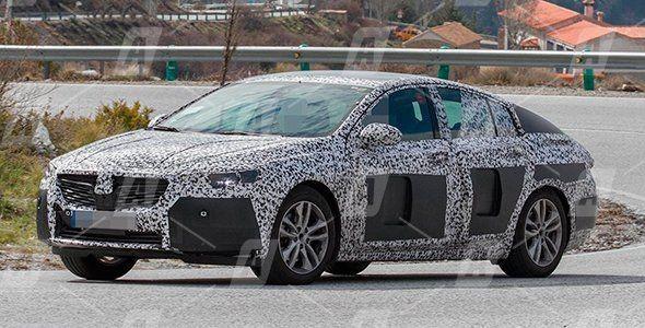 Vídeo y Fotos espía del nuevo Opel Insignia 2017