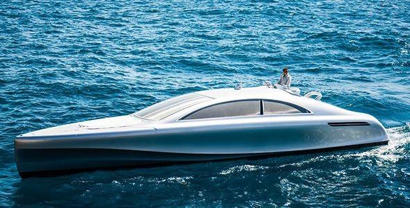 Mercedes-Benz Arrow460-Granturismo: un increíble yate repleto de lujo