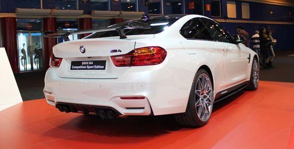 El BMW M4 CS edición limitada debuta en Madrid Auto 2016