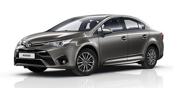 Toyota lanza la nueva gama de su Avensis