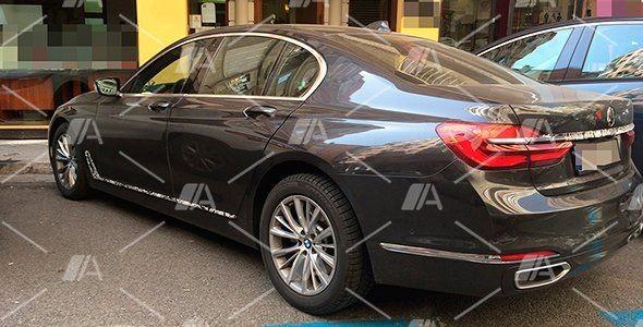 Fotos espía de nuevos sistemas para el BMW Serie 7