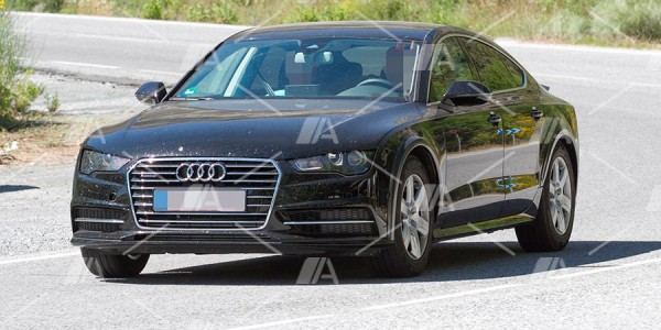Fotos espía del nuevo Audi A7 2018