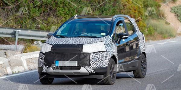 Fotos y vídeo espía del nuevo Ford Ecosport 2017