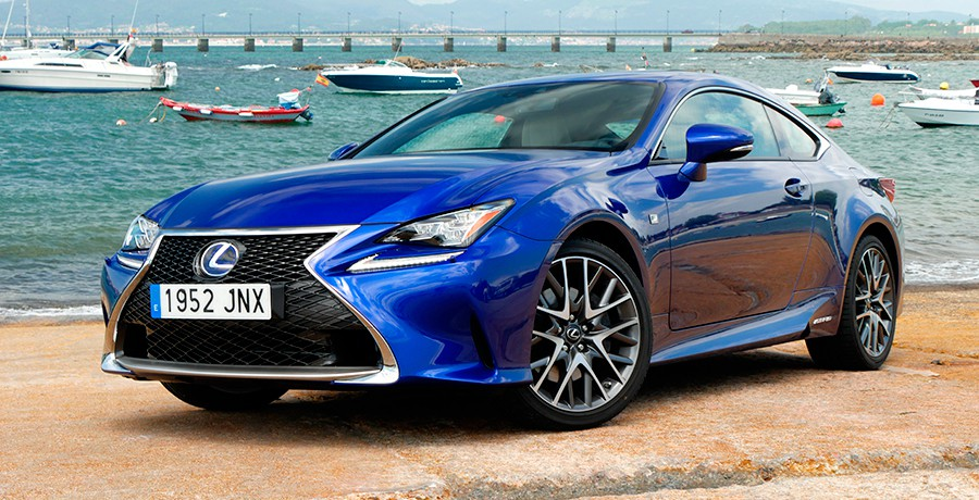 prueba del lexus rc 300h f sport 2016 actualidad. Black Bedroom Furniture Sets. Home Design Ideas