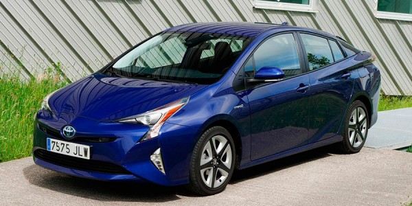 Prueba del Toyota Prius 2016