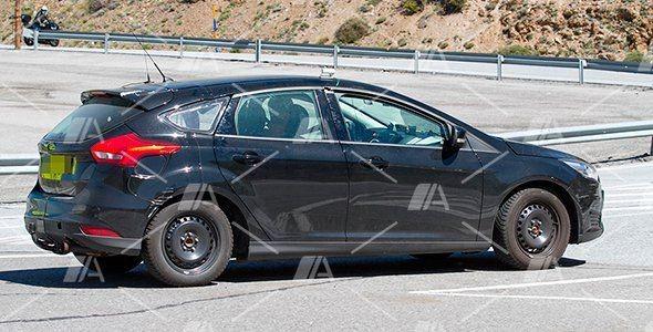 Fotos espía del nuevo Ford Focus con steer by wire