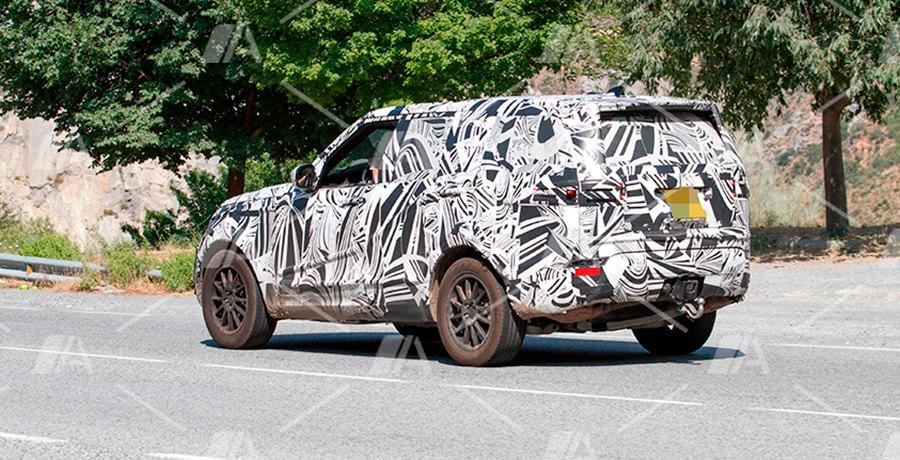 Fotos espía del nuevo Land Rover Discovery 2017