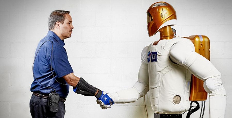 General Motors y la NASA crean un guante robótico
