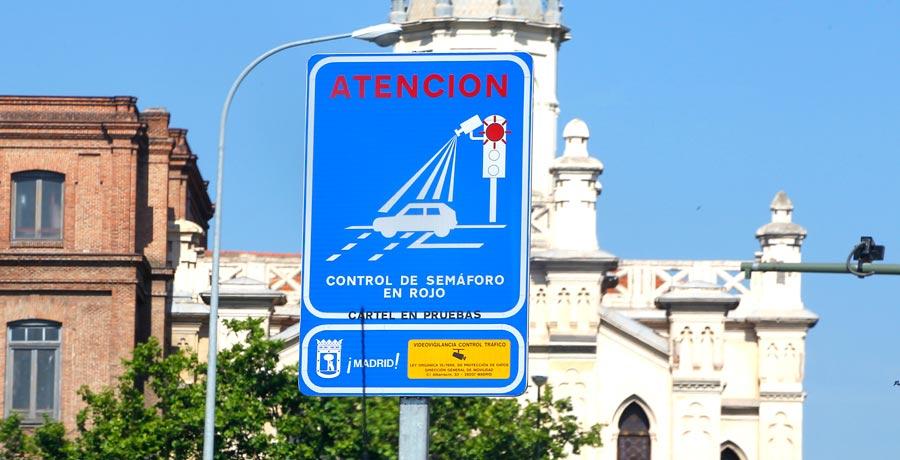 Nuevos radares de semáforo en rojo en Madrid