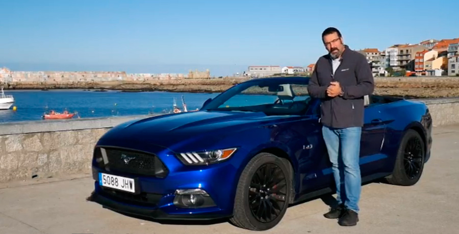 Vídeo prueba Ford Mustang GT 5.0 V8 Cabrio 2015