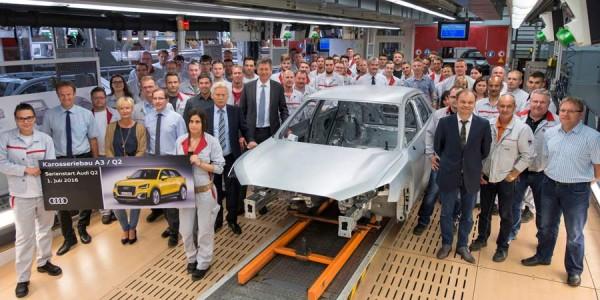 Audi Q2 arranca la producción del SUV pequeño