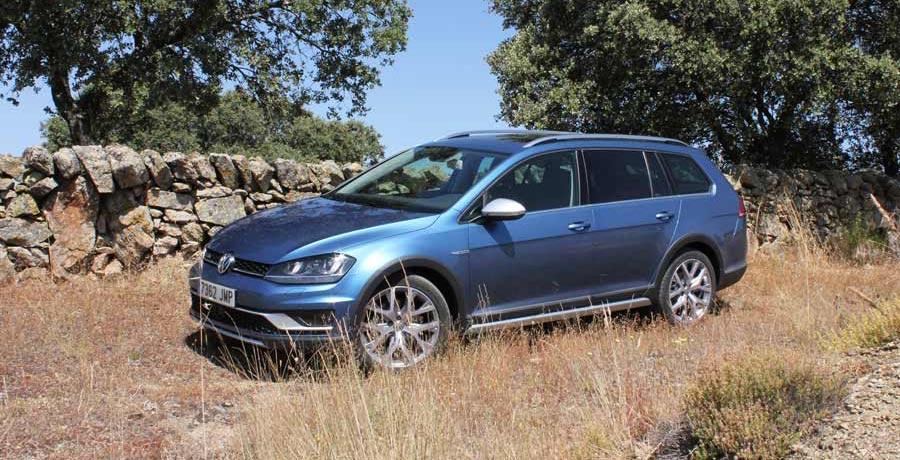 Prueba del Volkswagen Golf Alltrack 1.8 TSI 180 CV con cambio automático DSG