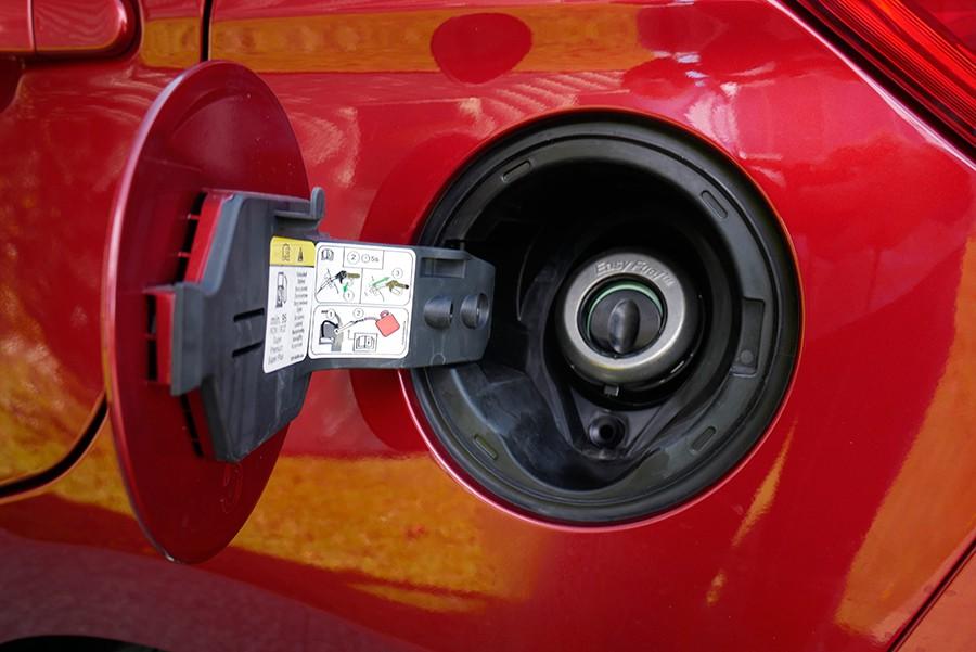 Una buena idea, sin complicados e incómodos tapones para el combustible.