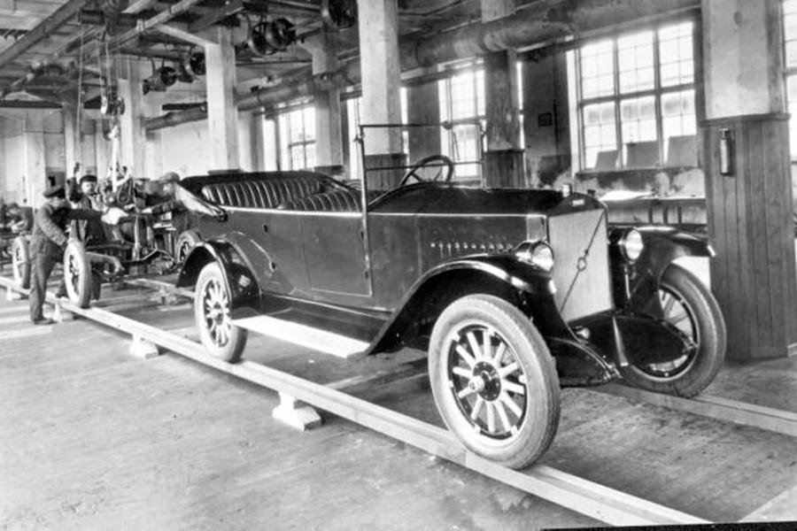 Así era el primer automóvil fabricado por Volvo.