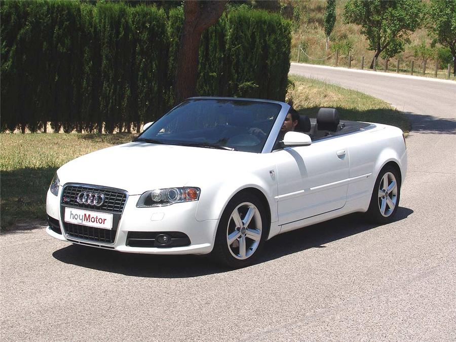 Photographs Audi A4 2-0 Cabriolet - sa6.1-themes